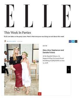 Danielle Fichera Press Elle Magazine