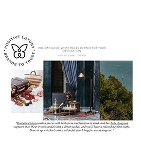 Danielle Fichera Press - Positive Luxury Holiday Guide