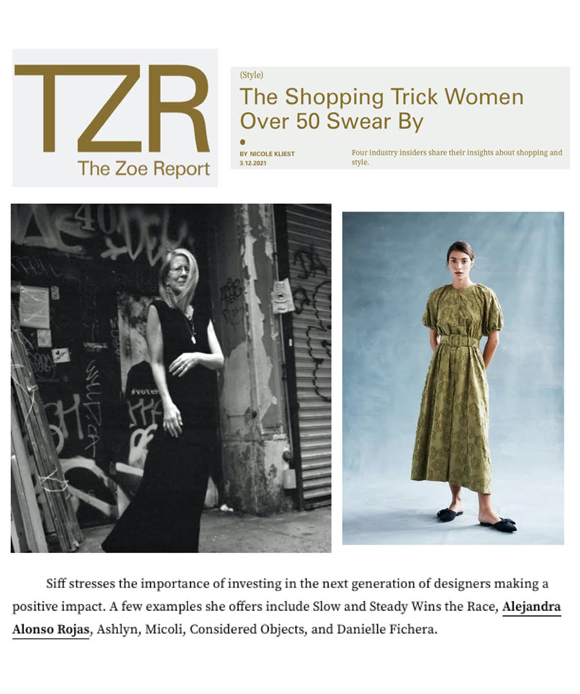 Danielle Fichera in The Zoe Report