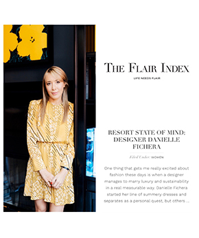 The Flair Index Article Showing Founder Danielle Fichera