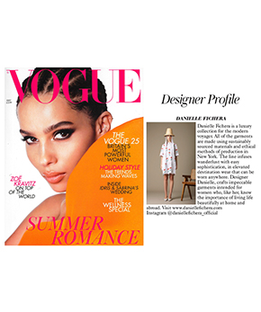 Danielle Fichera Vogue Press