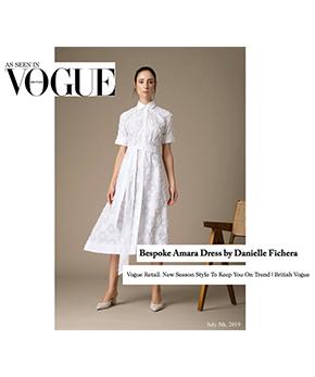 Danielle Fichera Press - Vogue