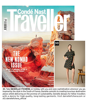 Conde Nast Traveller Featuring Danielle Fichera's Dress