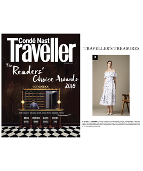 Danielle Fichera Featured in Conde Nast Traveller