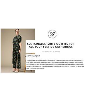 Danielle Fichera Featured in Positive Luxury