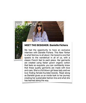 Danielle Fichera Featured in Normou