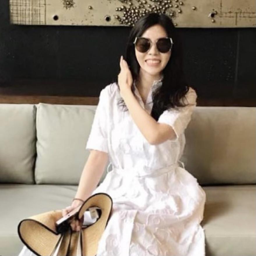 Amara Dress in White